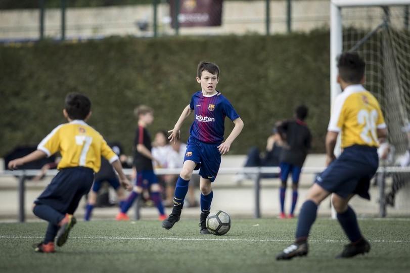 Детская футбольная школы в испании