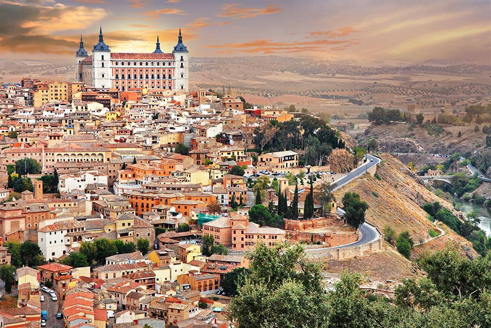 Толедо Андалусия Культурный досуг: топ-5 испанских городов ЮНЕСКО 8